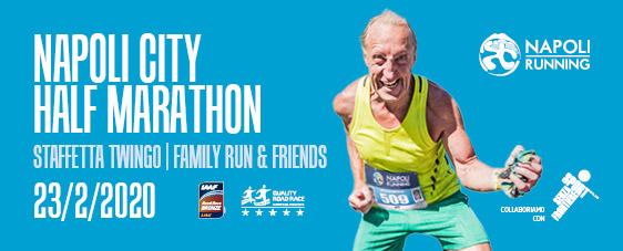Napoli City Half Marathon 2020 & Staffetta Twingo con Sport Senza Frontiere!