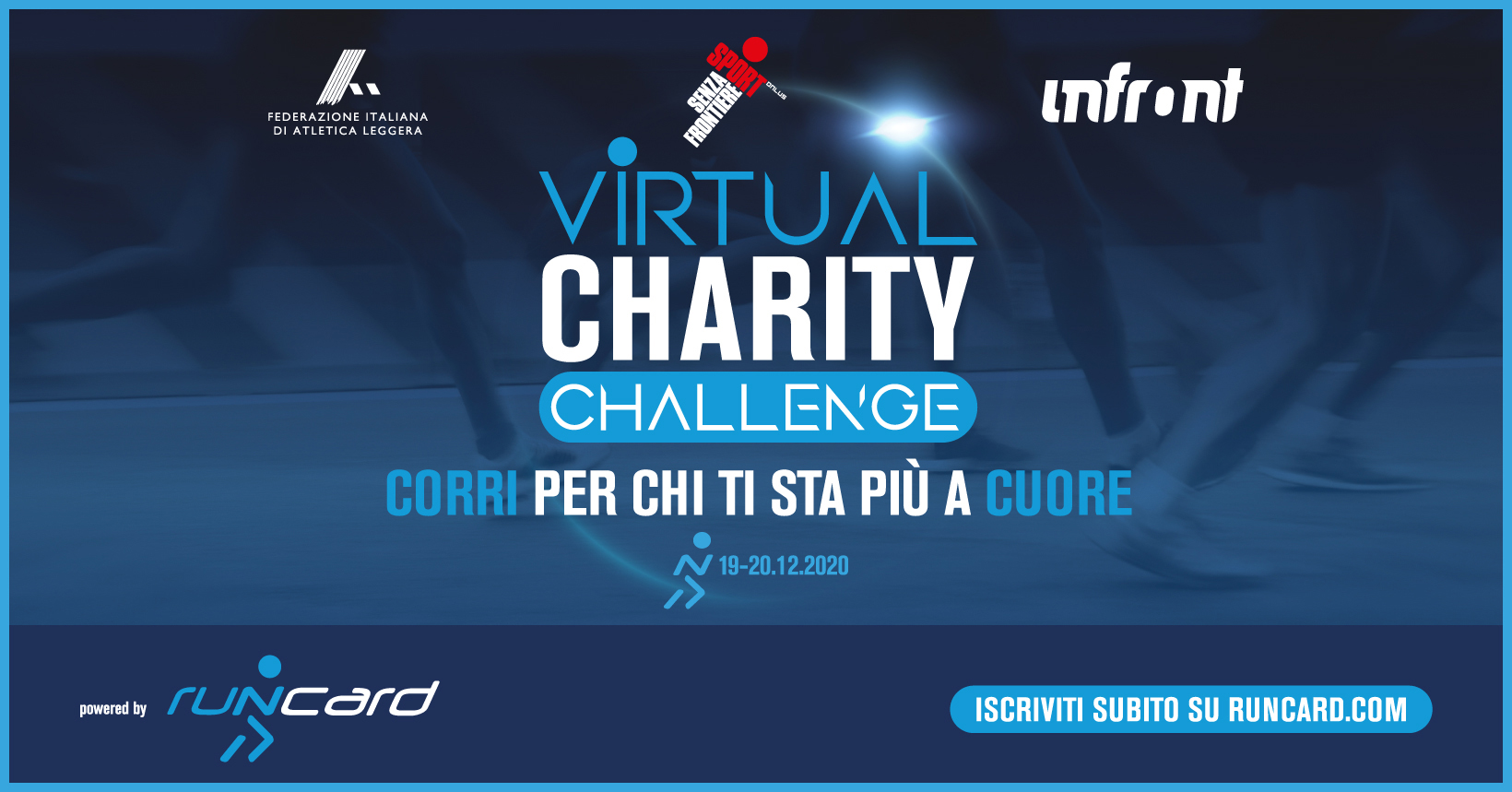 Virtual Charity Challenge – Corri per noi!